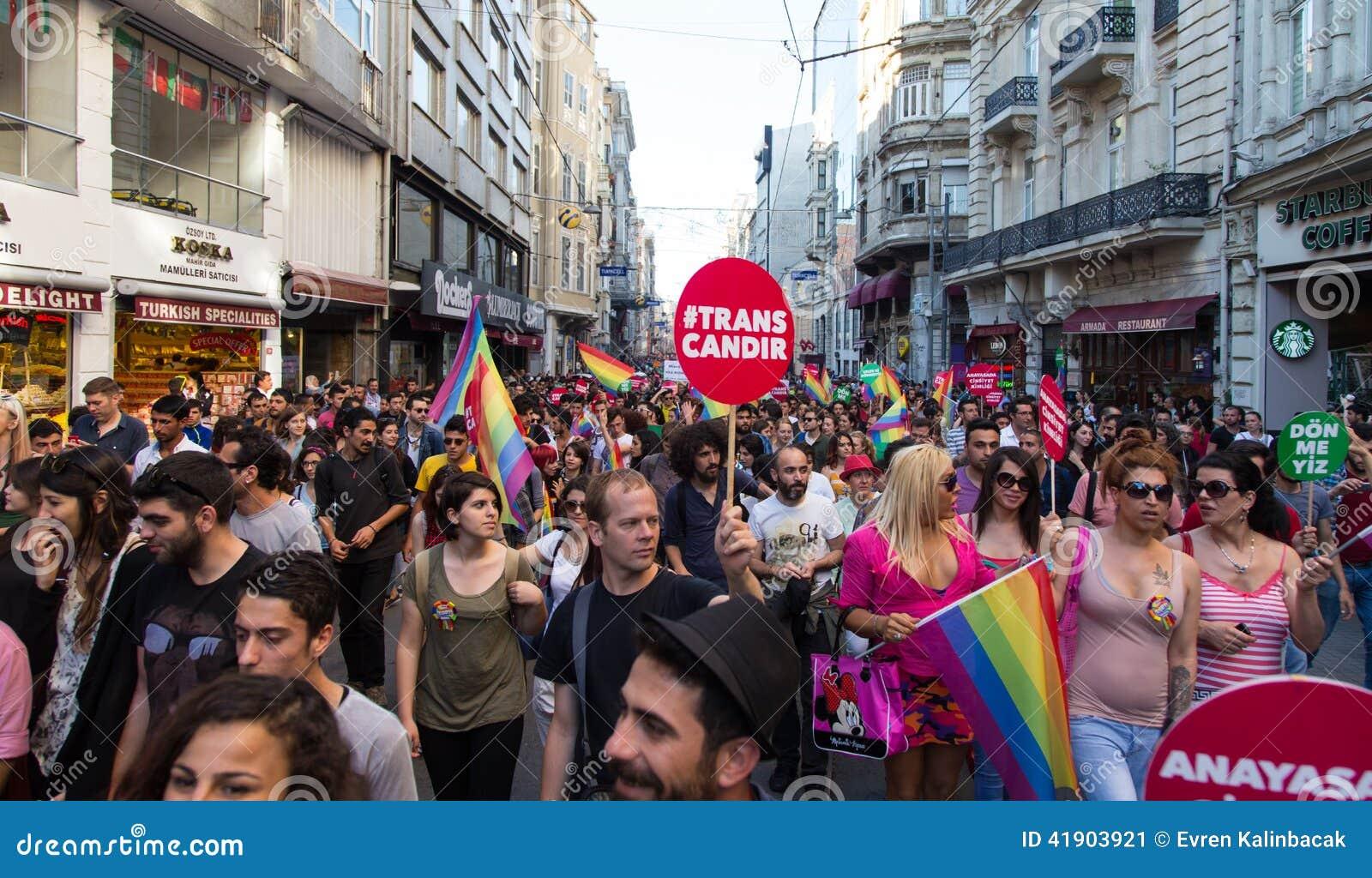 5 Transporte Pride March en Estambul
