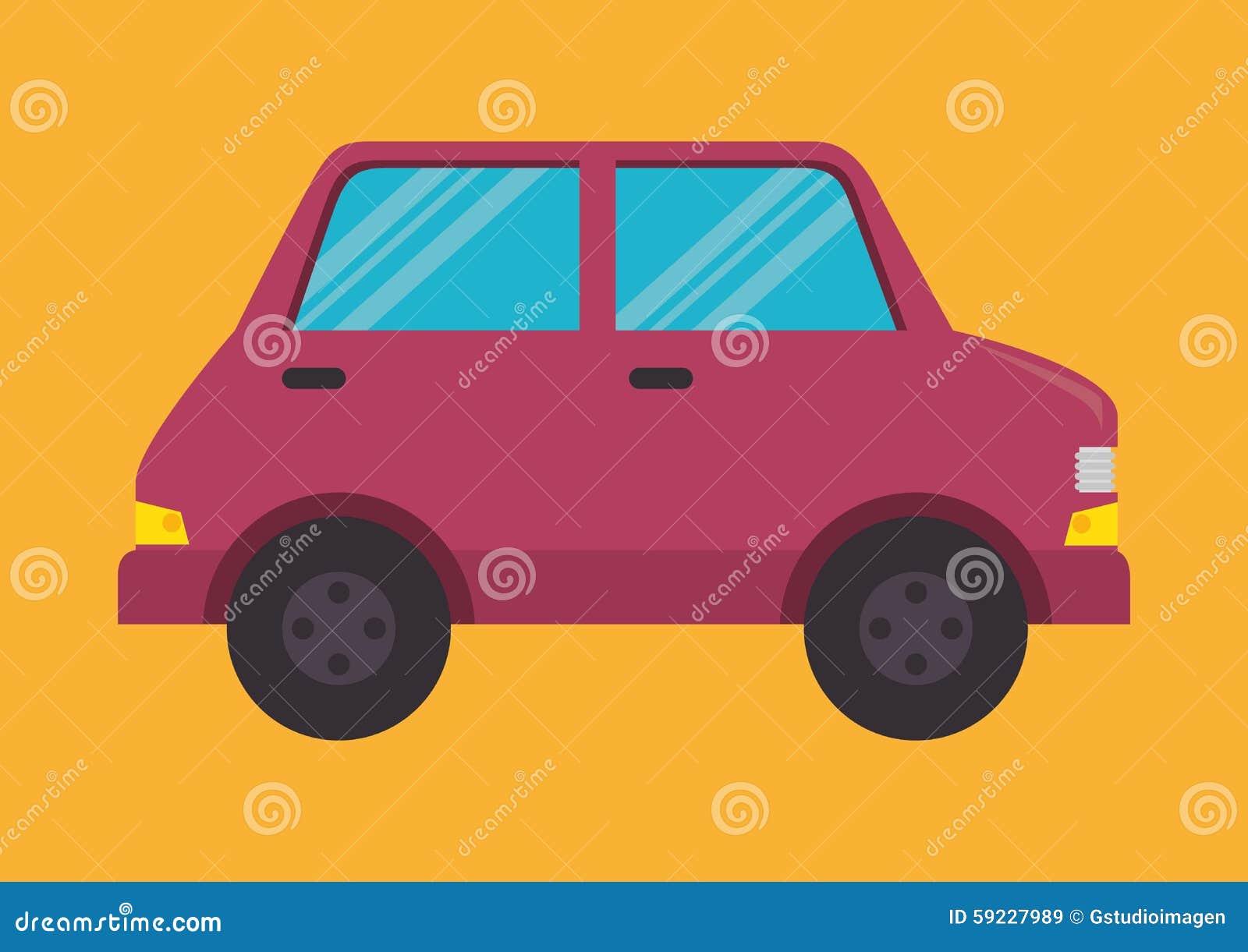 Download Transporte y vehículos ilustración del vector. Ilustración de solución - 59227989