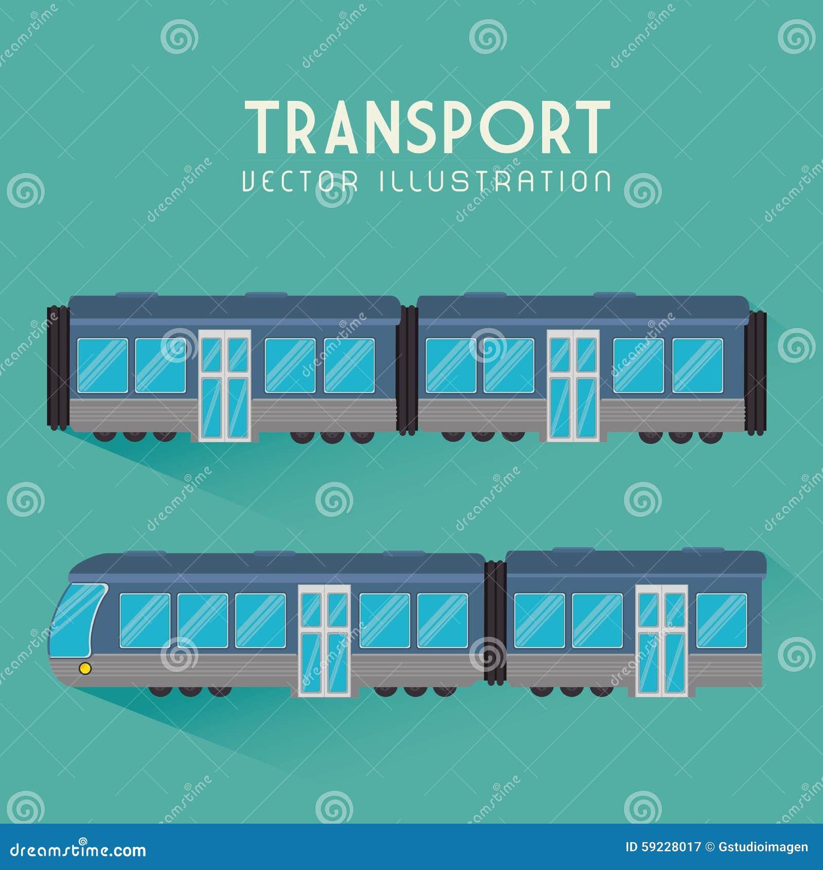 Download Transporte y vehículos ilustración del vector. Ilustración de ruedas - 59228017