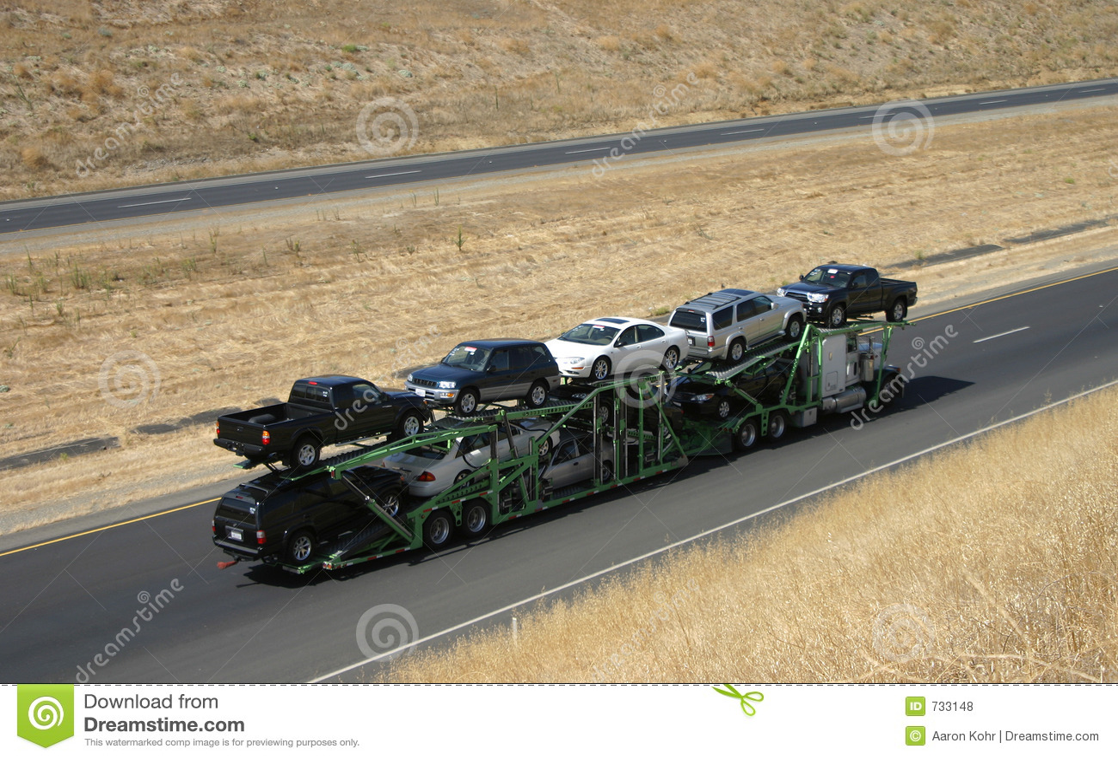 Transporteur de véhicule