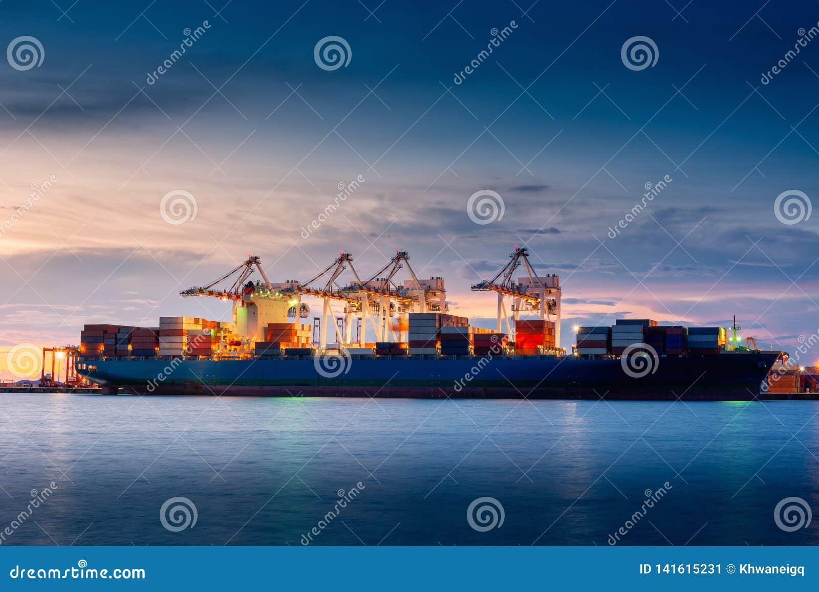 Transportu i wysyłki logistyki ładowniczy dok śmiertelnie , zbiornika import i eksport denny frachtowy transport przemysłowy ,