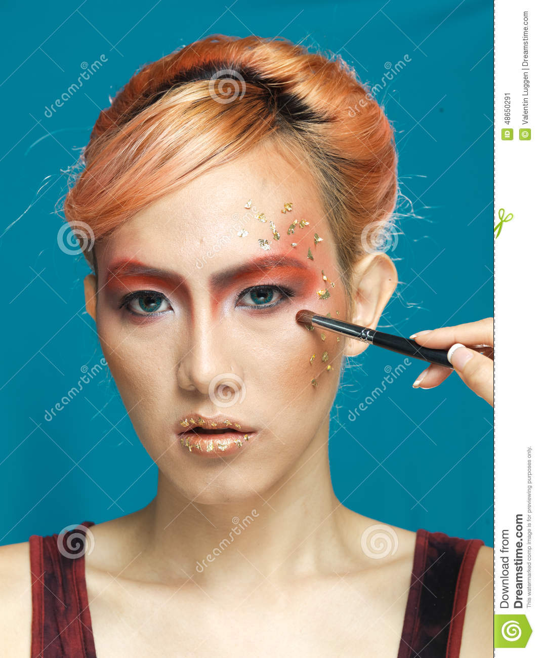 Transsexual Model Styling Stock Photo Image 48650291