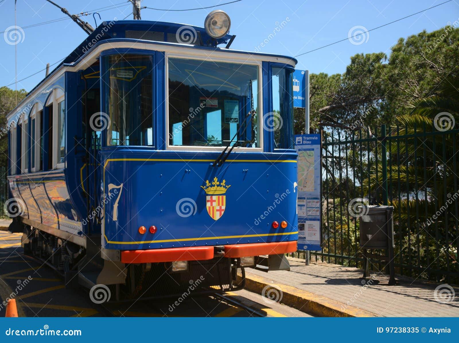 Tranvía azul Tramvia Blau