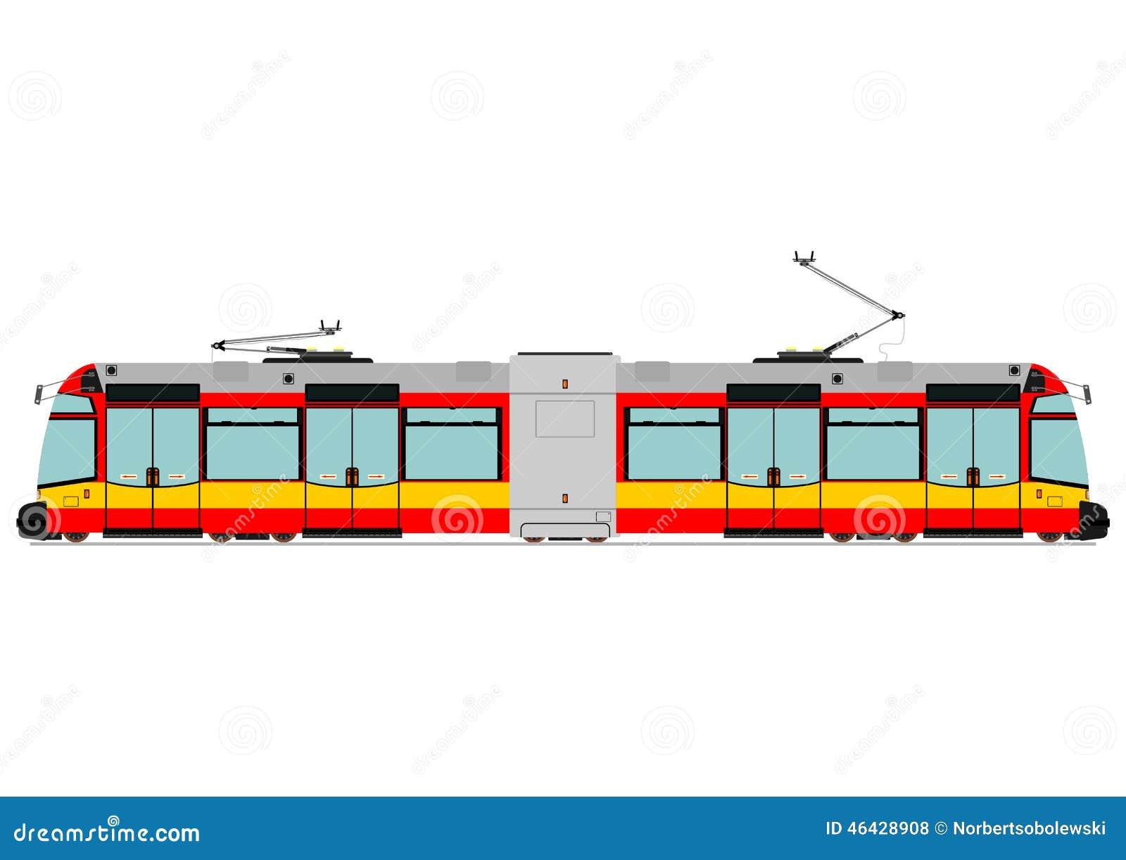 Tranvía moderna