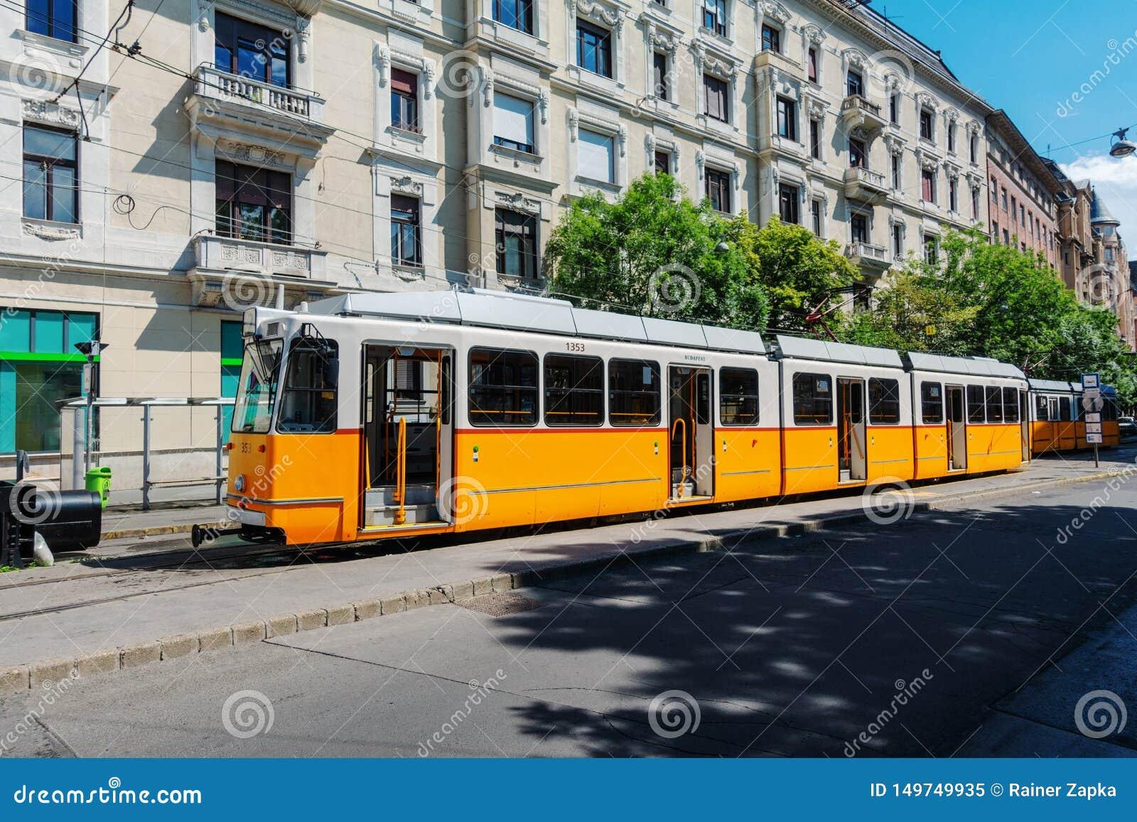 Tranv?a en Budapest Hungr?a