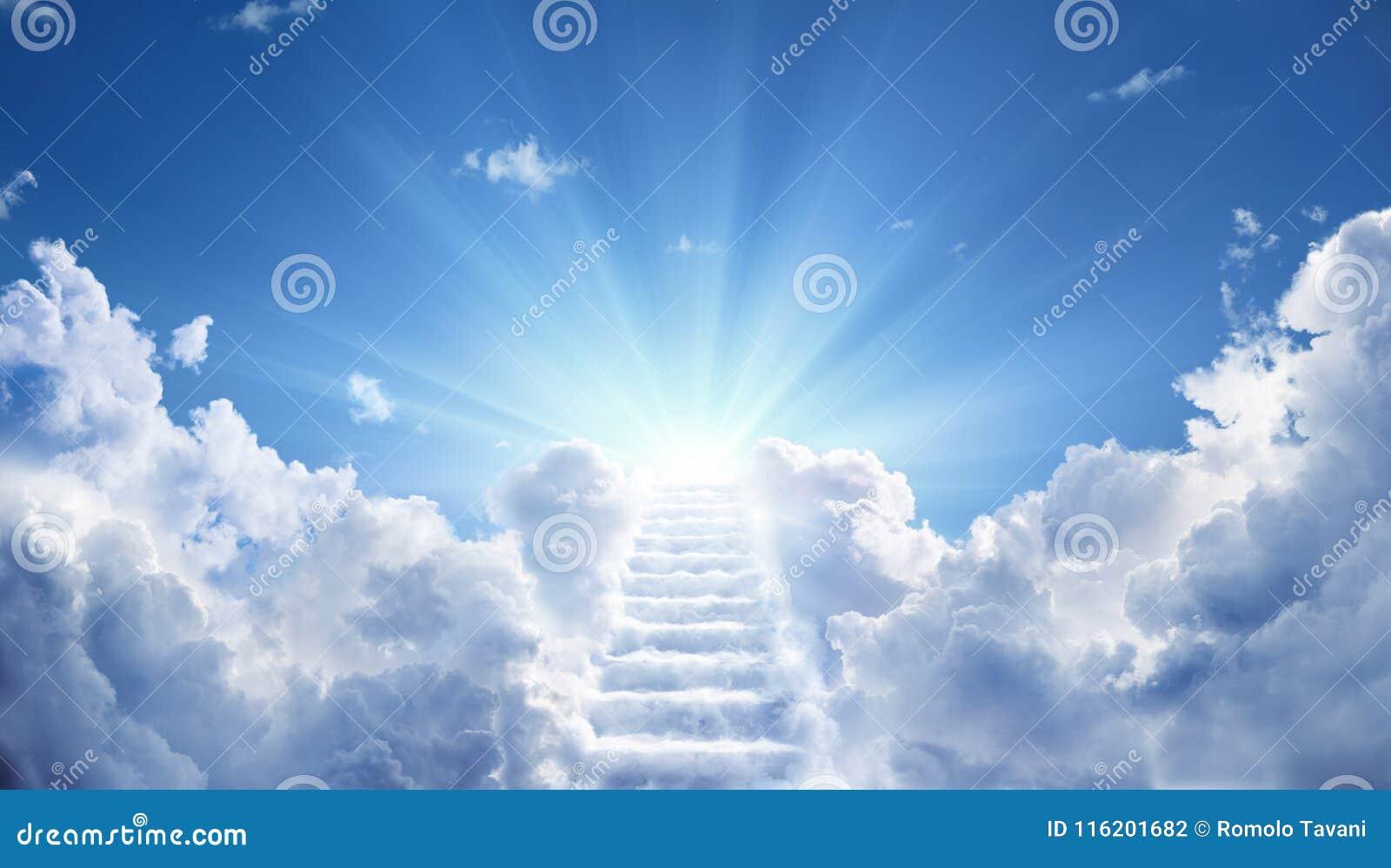 Trap die aan hemelse hemel leiden