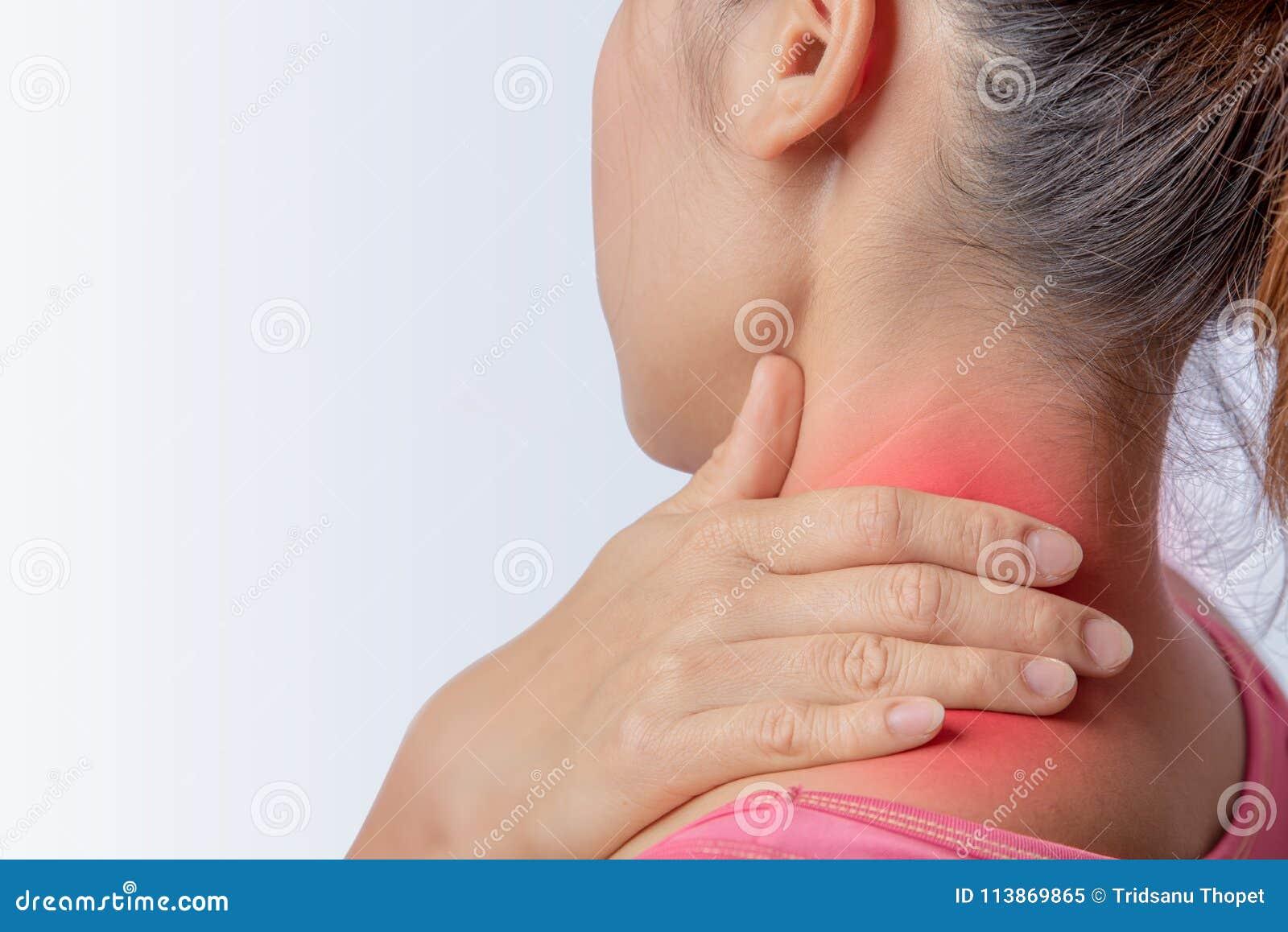 Trapezius laissé par inflammation