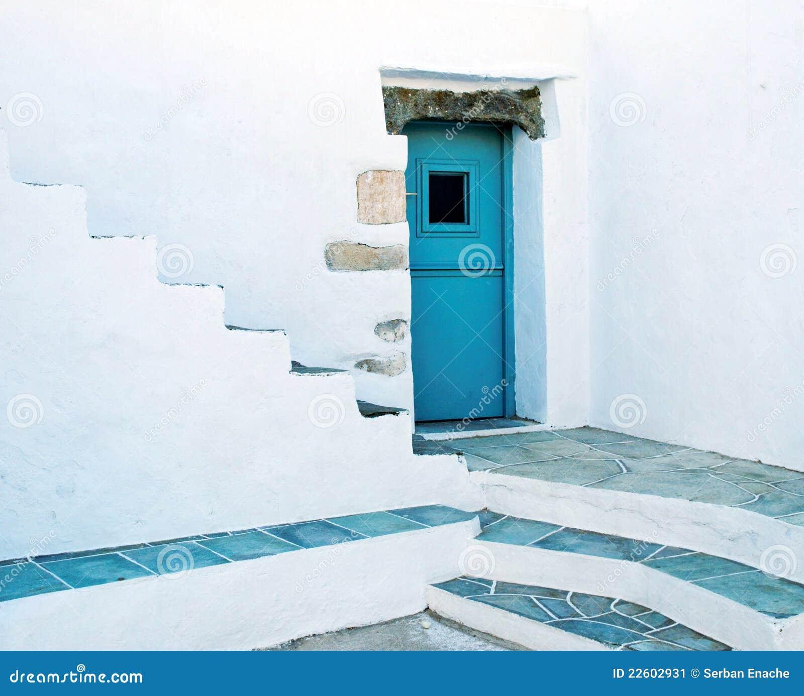 Trappe bleue
