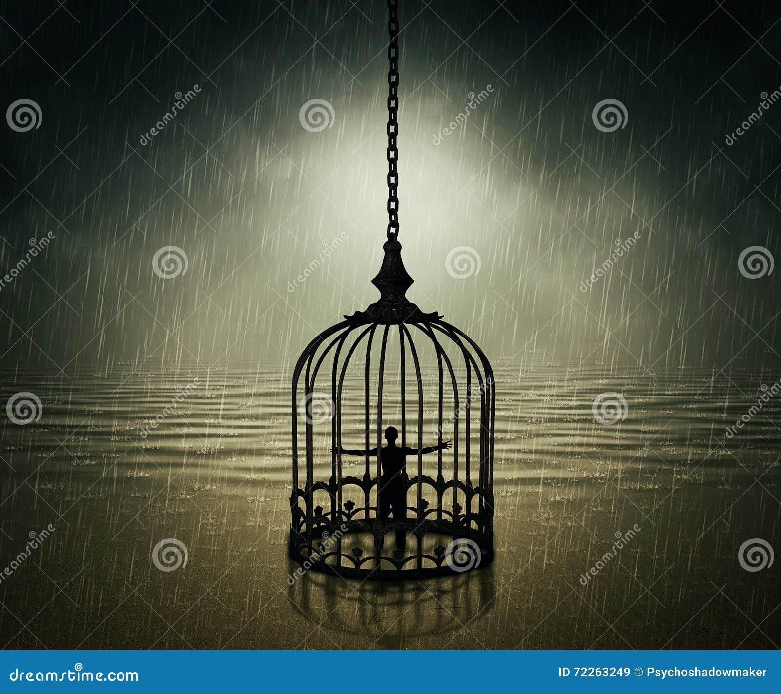 Trapped stock image  Image of hopelessness, prisoner - 72263249