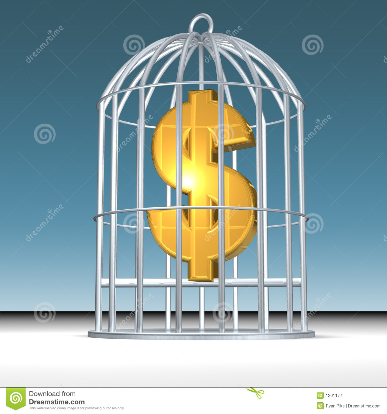Trapped money