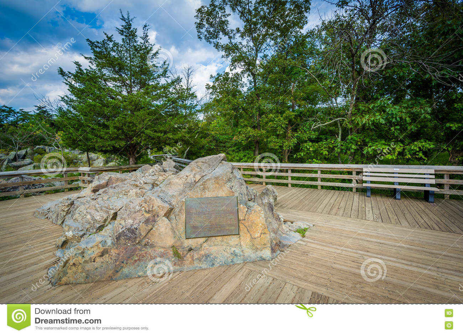 Trascuri di Great Falls all isola di Olmsted al Chesapeake & all Ohio C
