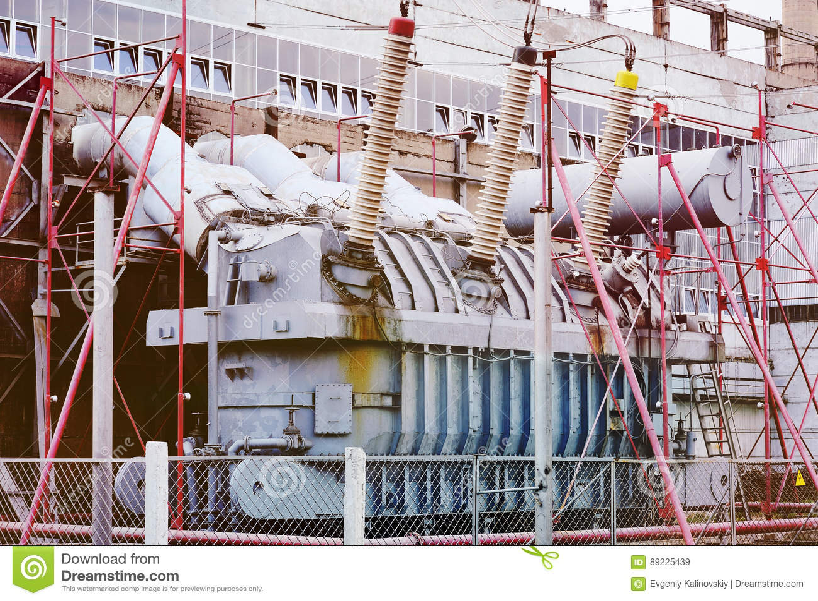 Trasformatore elettrico Centrale elettrica