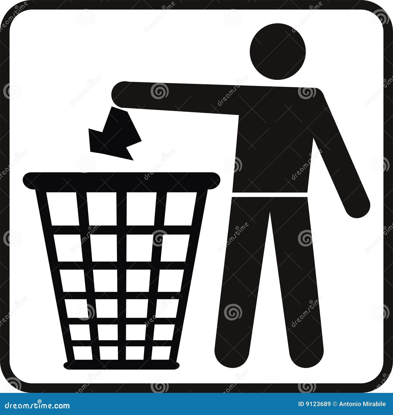 Trash Basket Royalty Free Stock Images Image 9123689