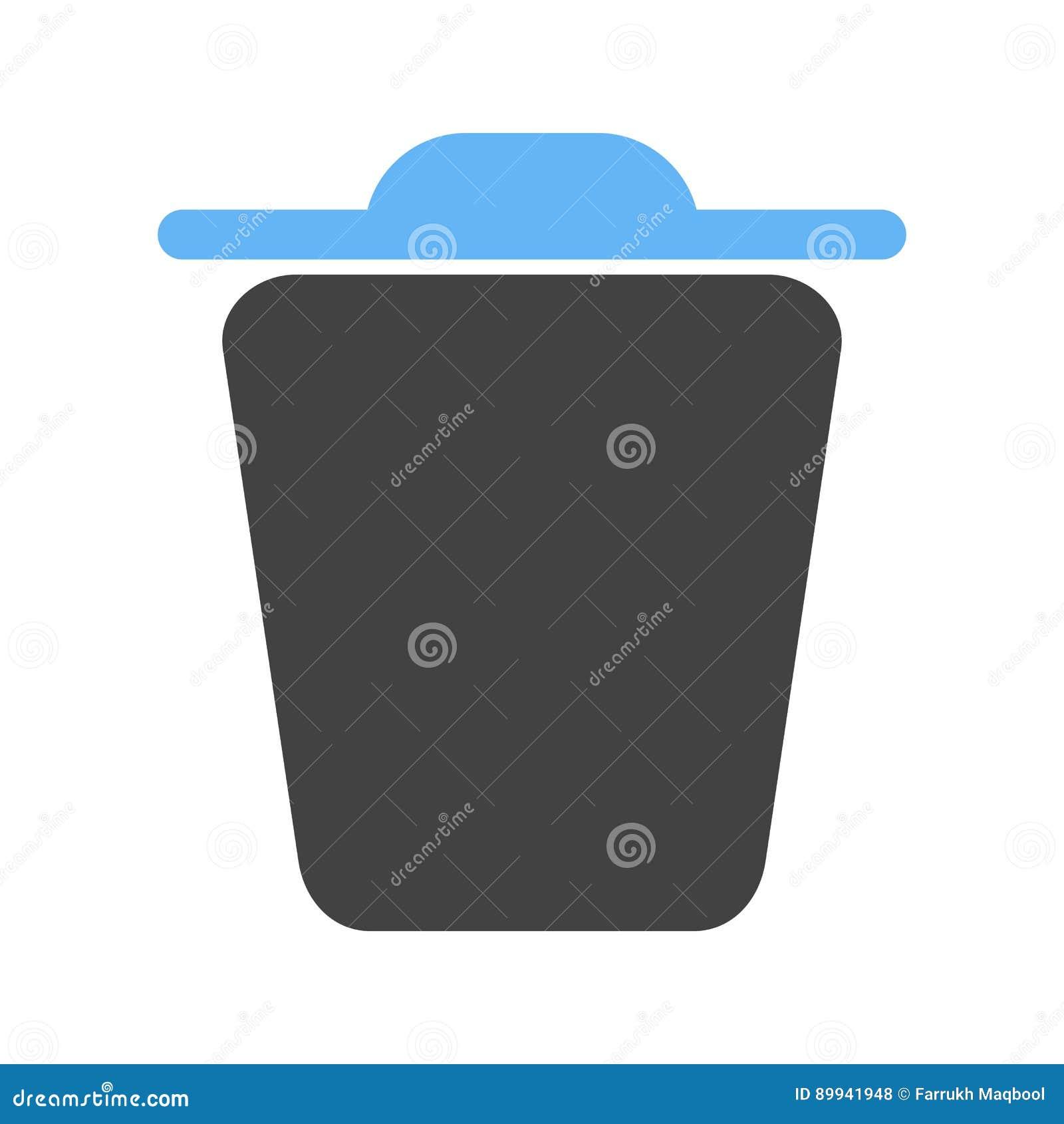 Trash stock vector  Illustration of delete, exit, vector - 89941948
