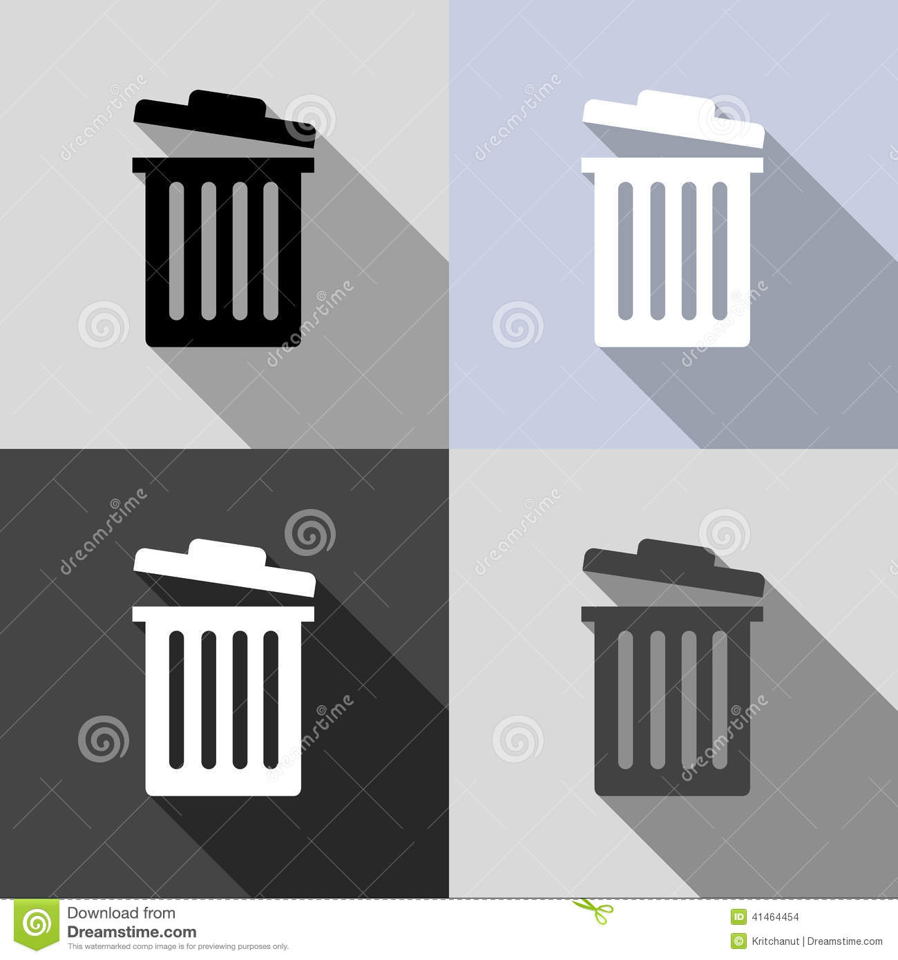 how to delete the recycling bin icon