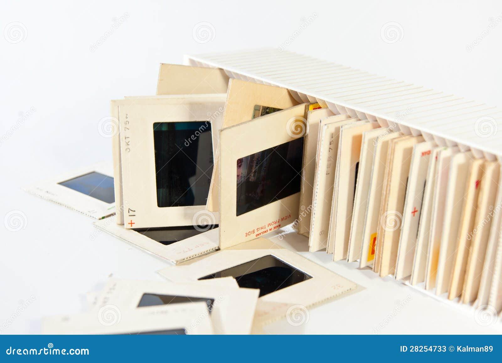 Trasparenze di film di 35mm immagine stock immagine di telaio