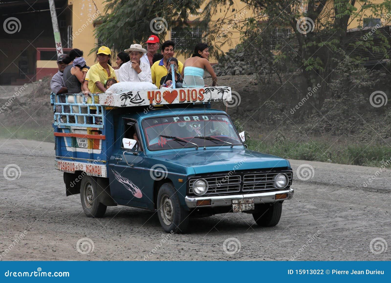 Trasporto pubblico del Ecuadorian