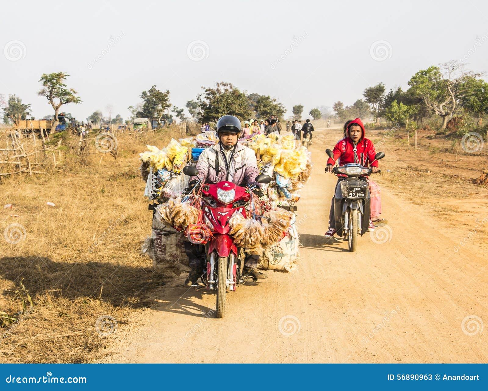 Trasporto sulla motocicletta