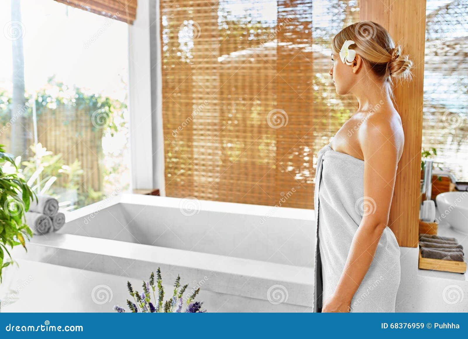 Tratamiento del cuidado del cuerpo del balneario de la mujer Flor Rose Bath Belleza, skincare