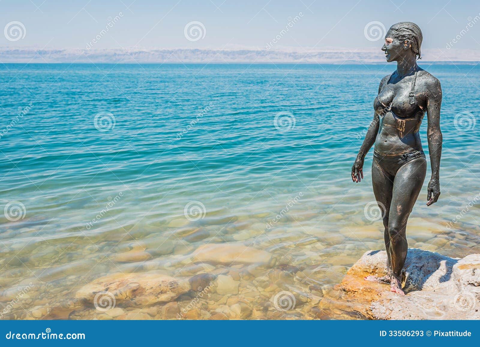 Tratamiento Jordania del cuidado del cuerpo del fango del mar muerto