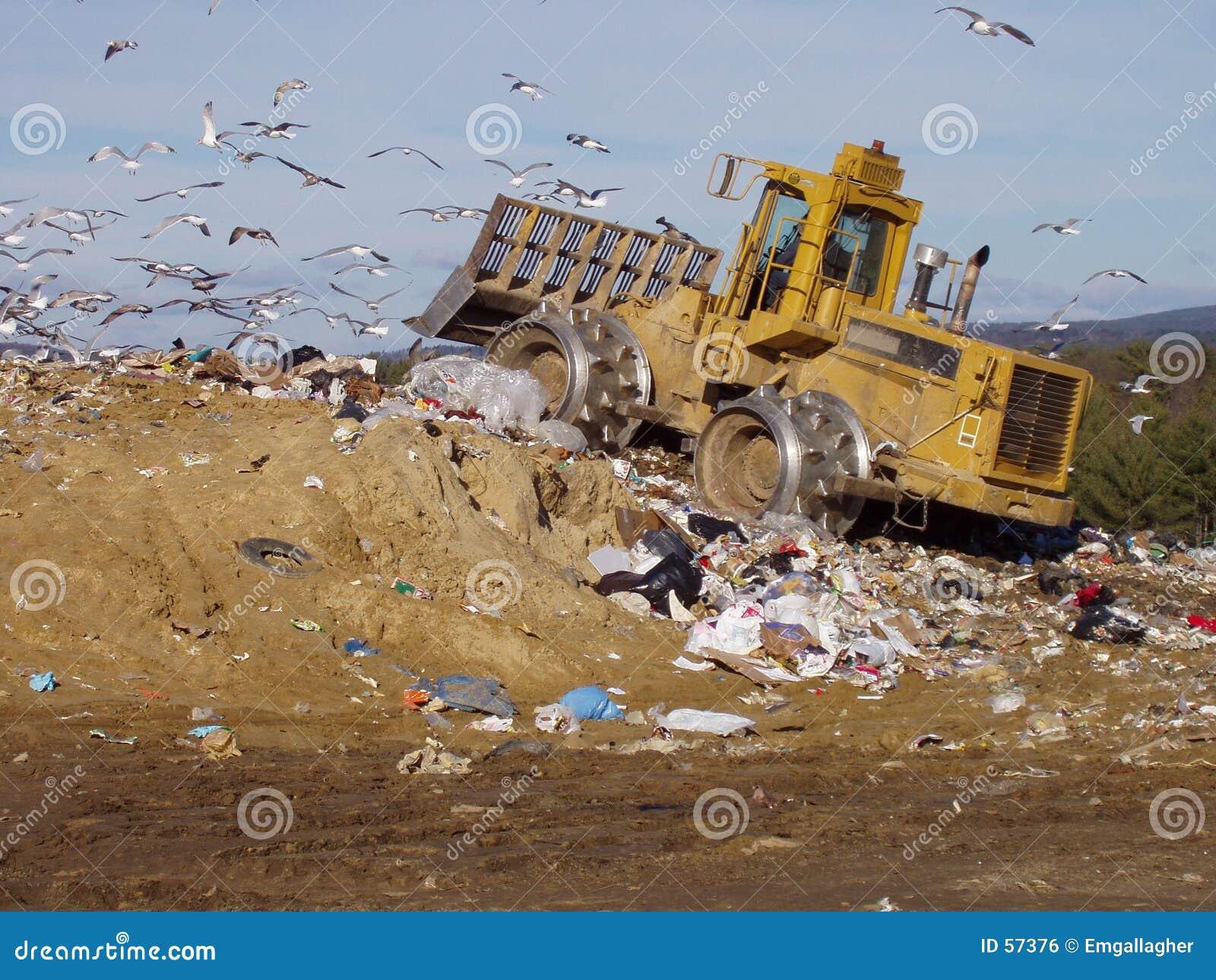 Trator do lixo