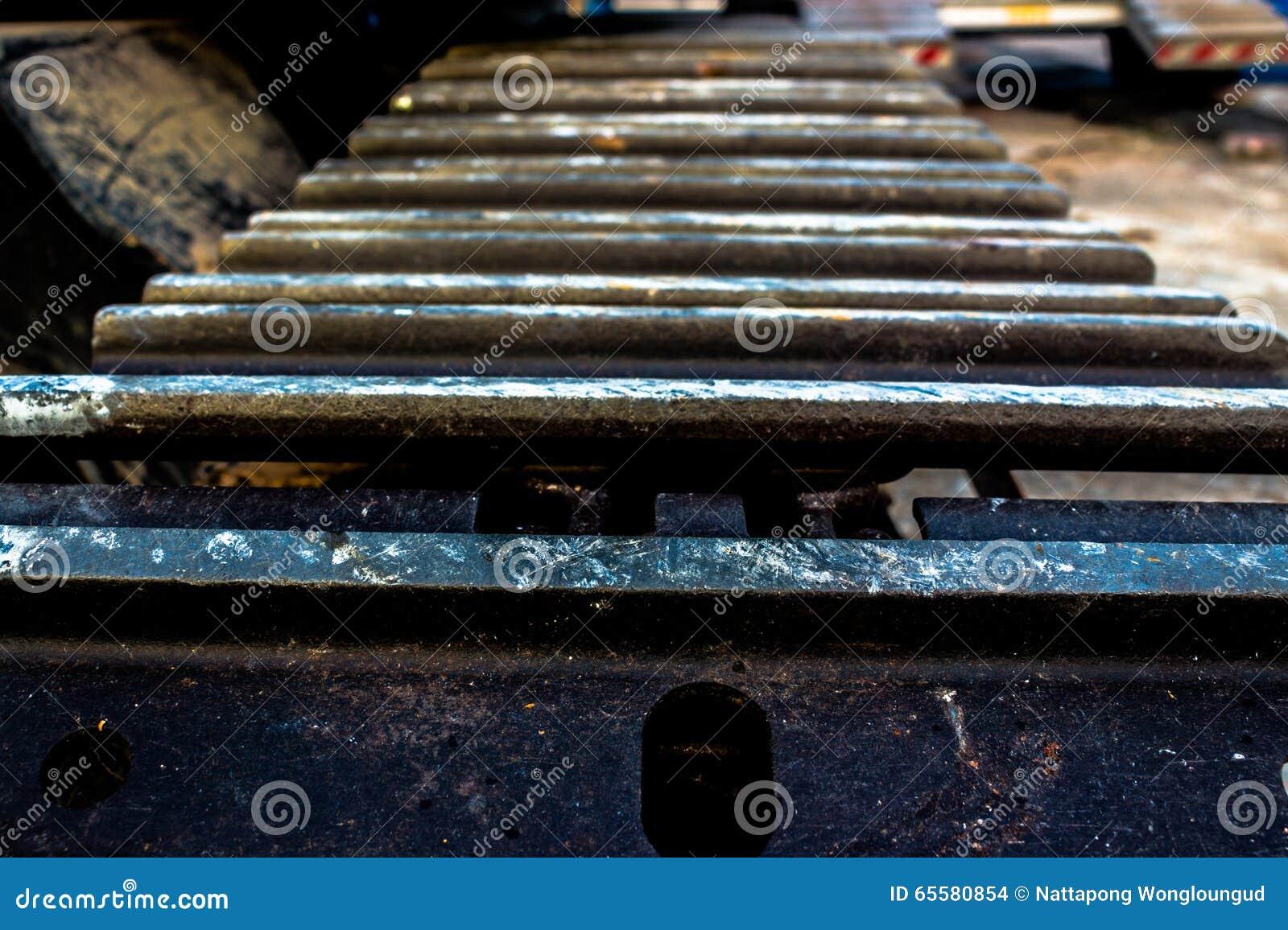 Tratores de aço da roda