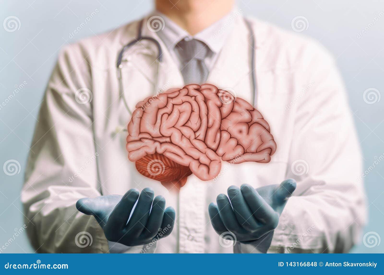 Trattamento di un cervello