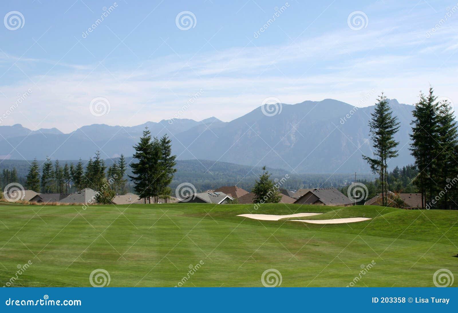 Tratto navigabile di terreno da golf