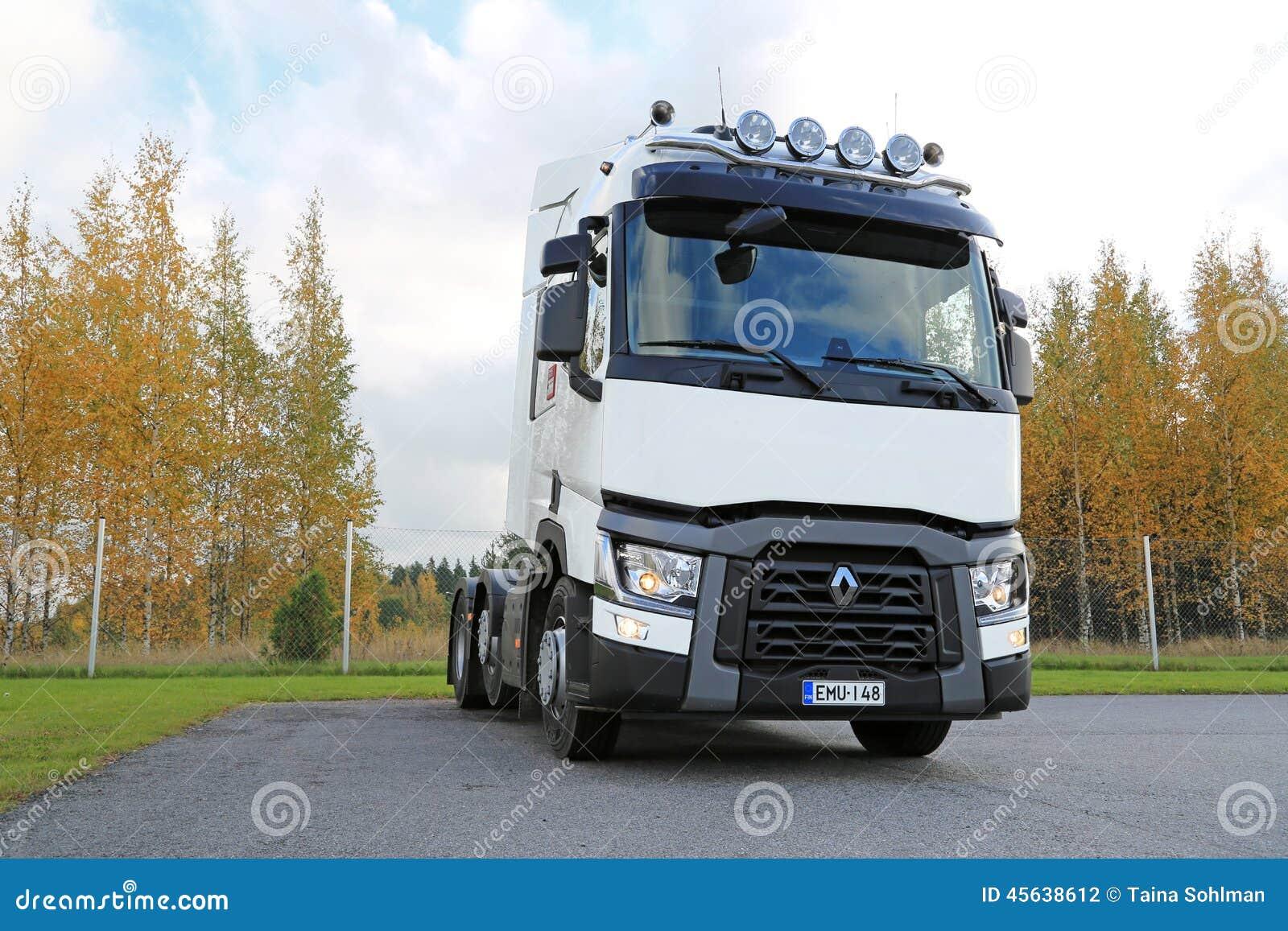 trattore bianco del camion di renault t480 fotografia editoriale immagine di diesel copia. Black Bedroom Furniture Sets. Home Design Ideas