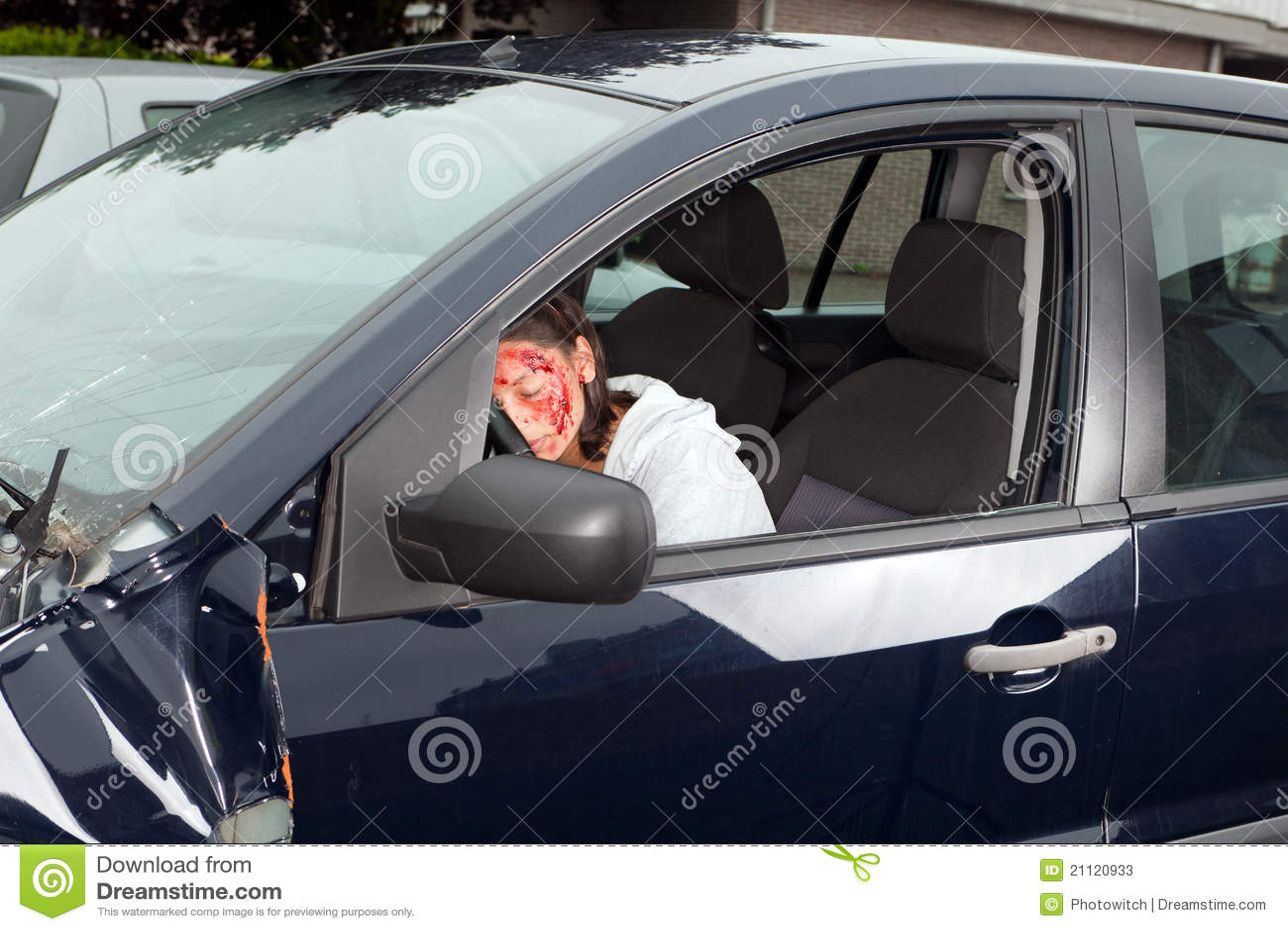 Trauma Car Crash Stock Photos - Image: 21120933