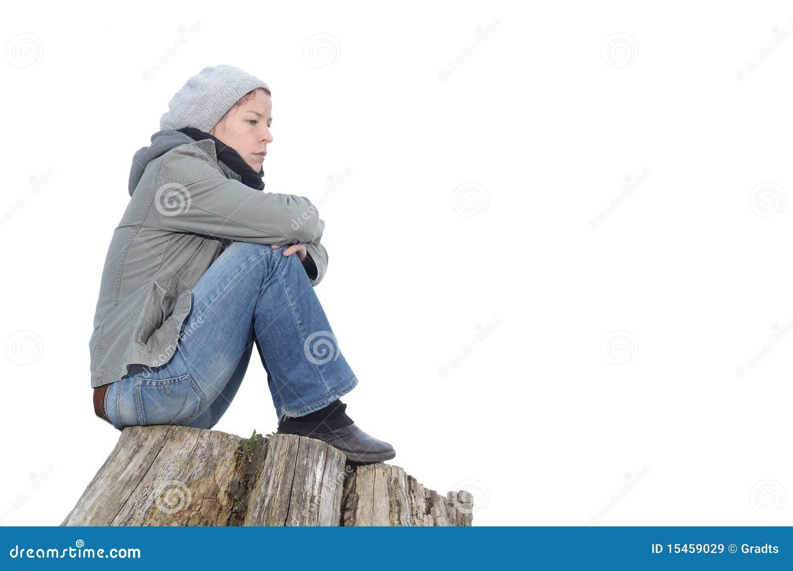 Traurig Und Einsam Lizenzfreie Stockbilder - Bild: 15459029