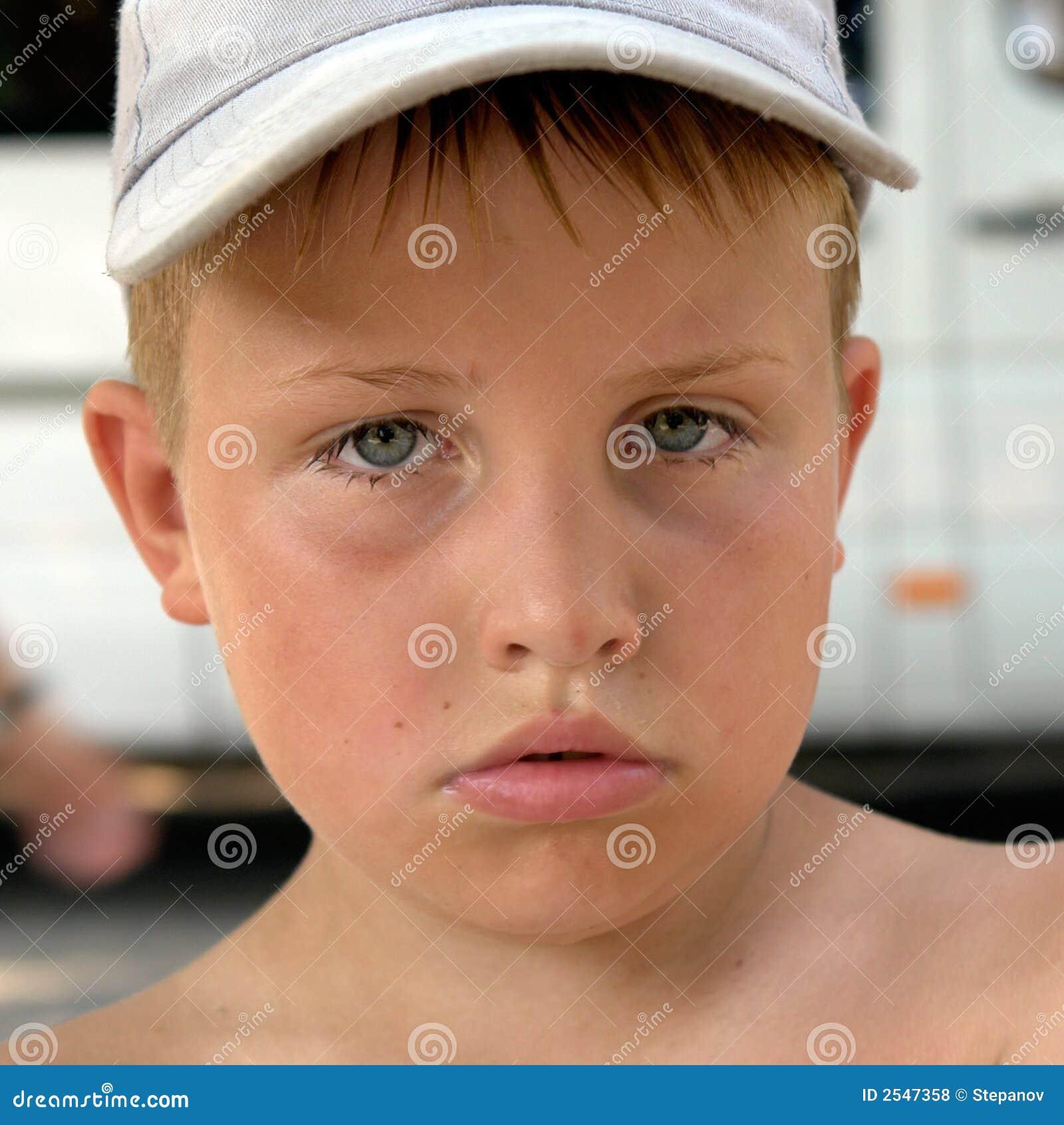 Trauriges Gesicht Stockfoto Bild Von Schon Gesicht Person 2547358