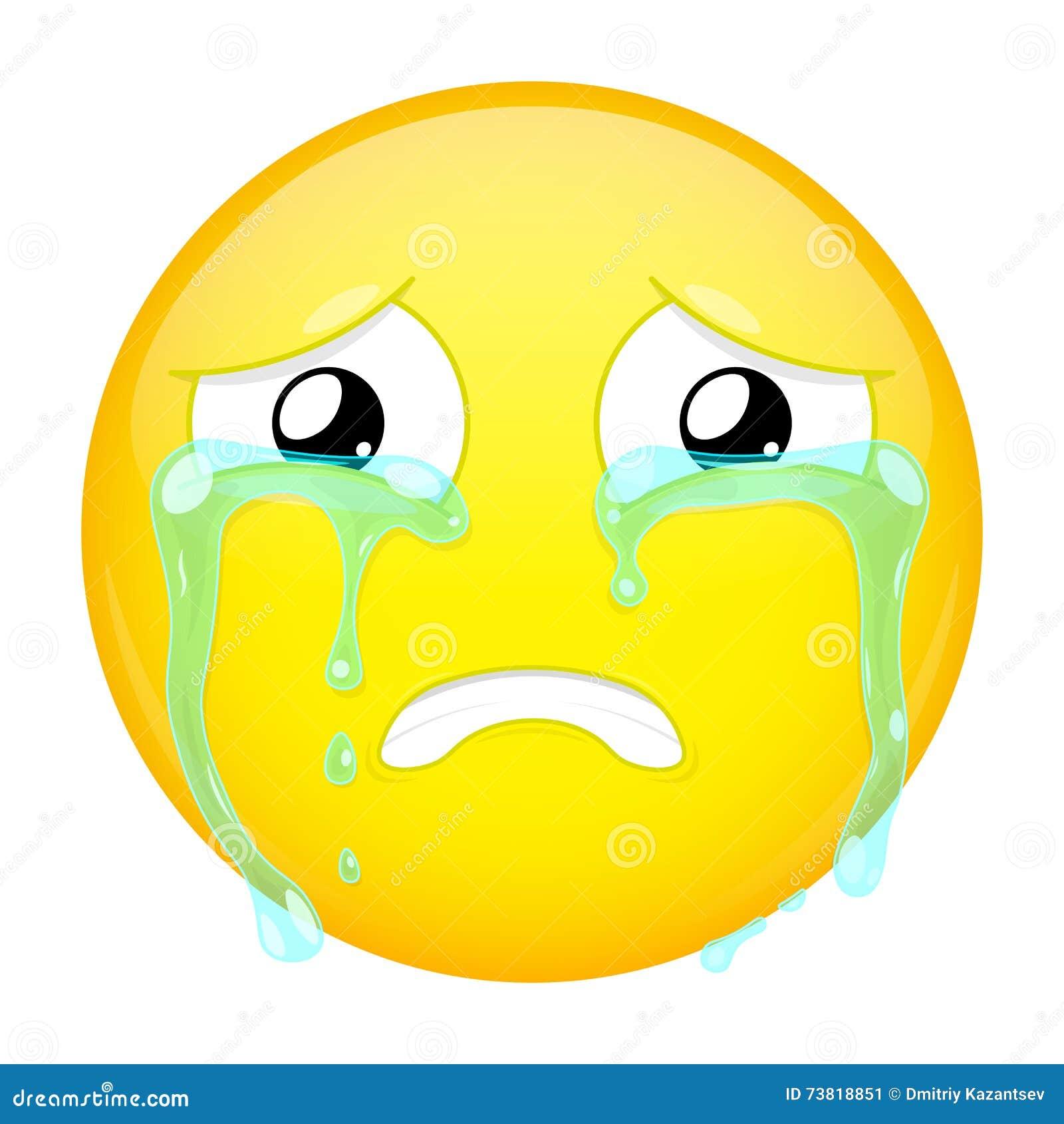weinender emoji