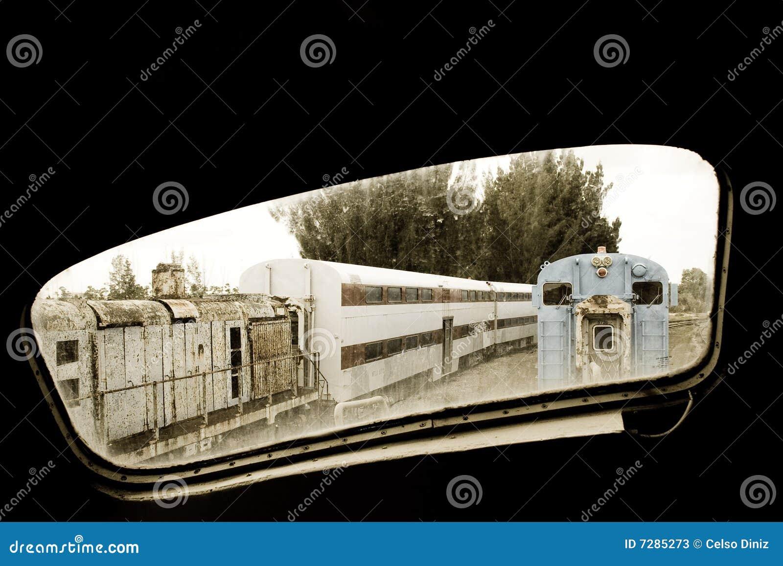 Ventana locomotora vieja