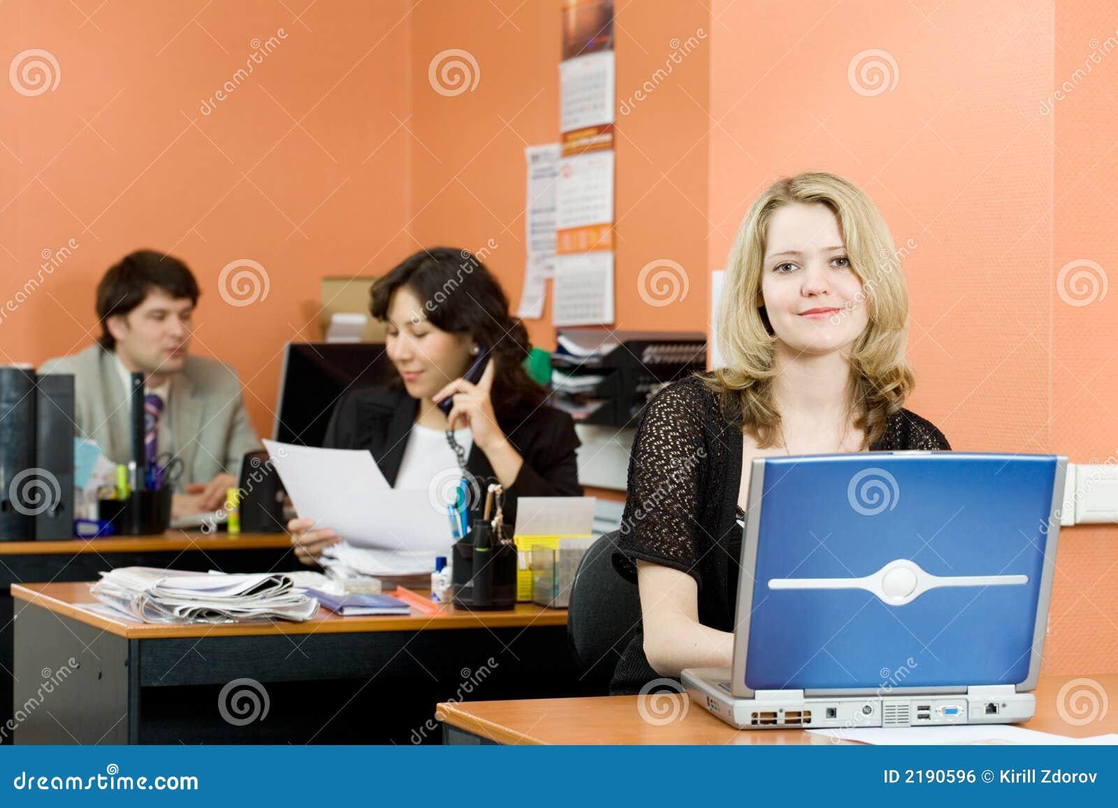 Travail dans le bureau