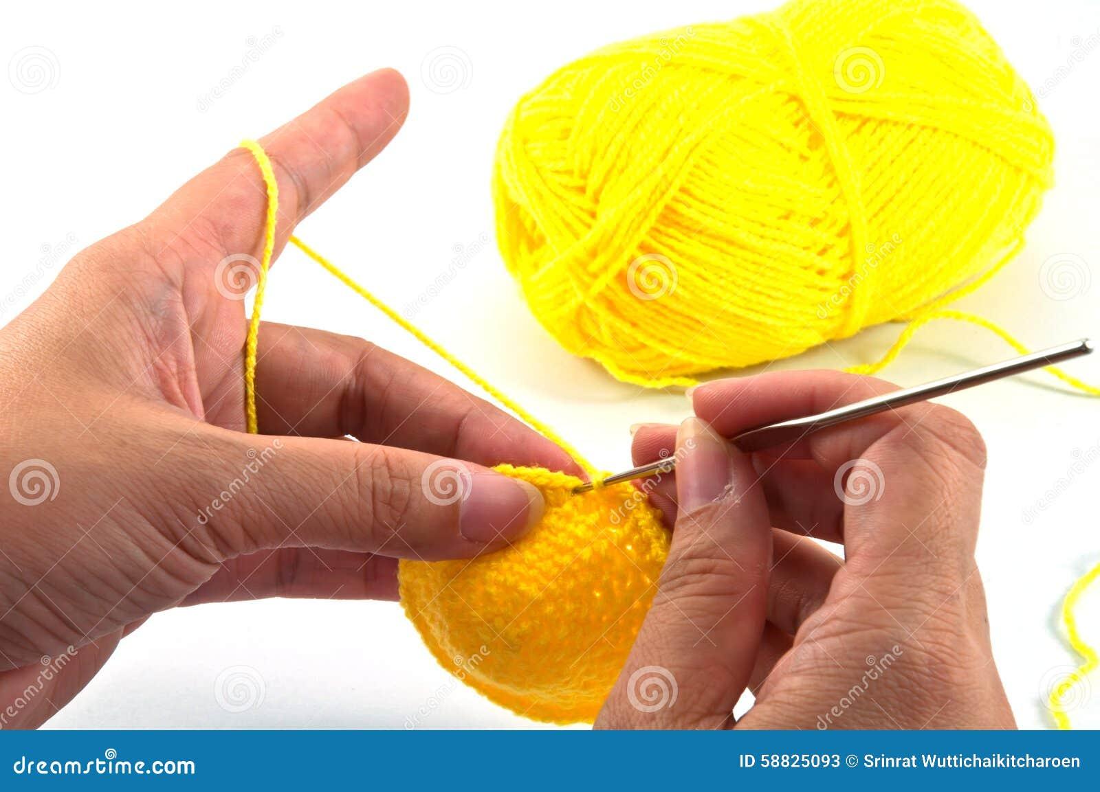 Travail de crochet