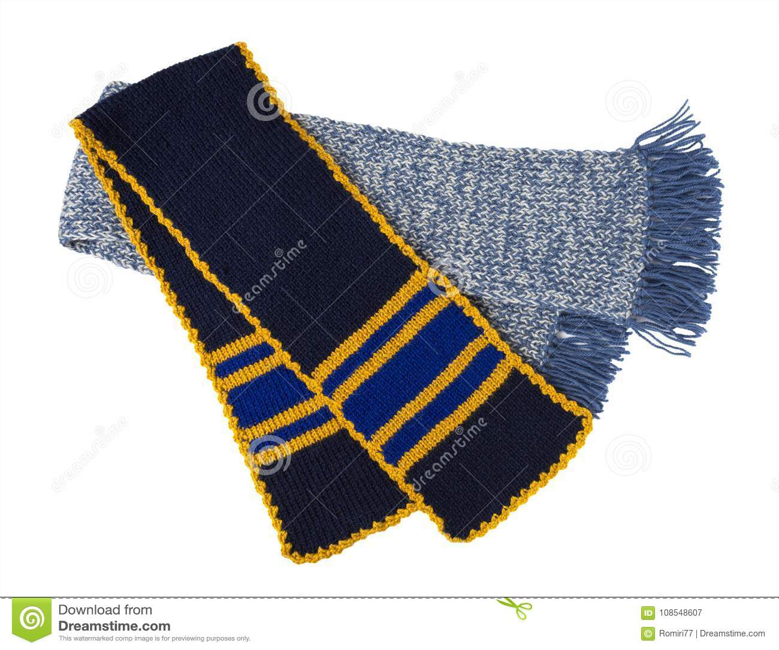 Travail manuel tricoté par écharpe Écharpe de laine colorée