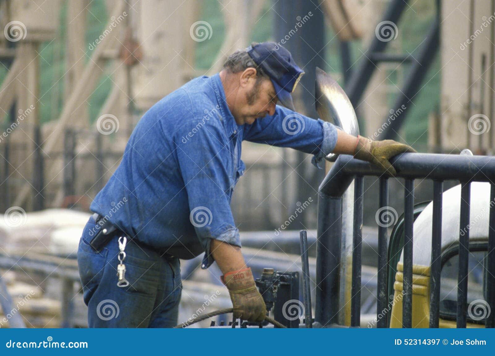 Travailleur d huile à Torrance, CA