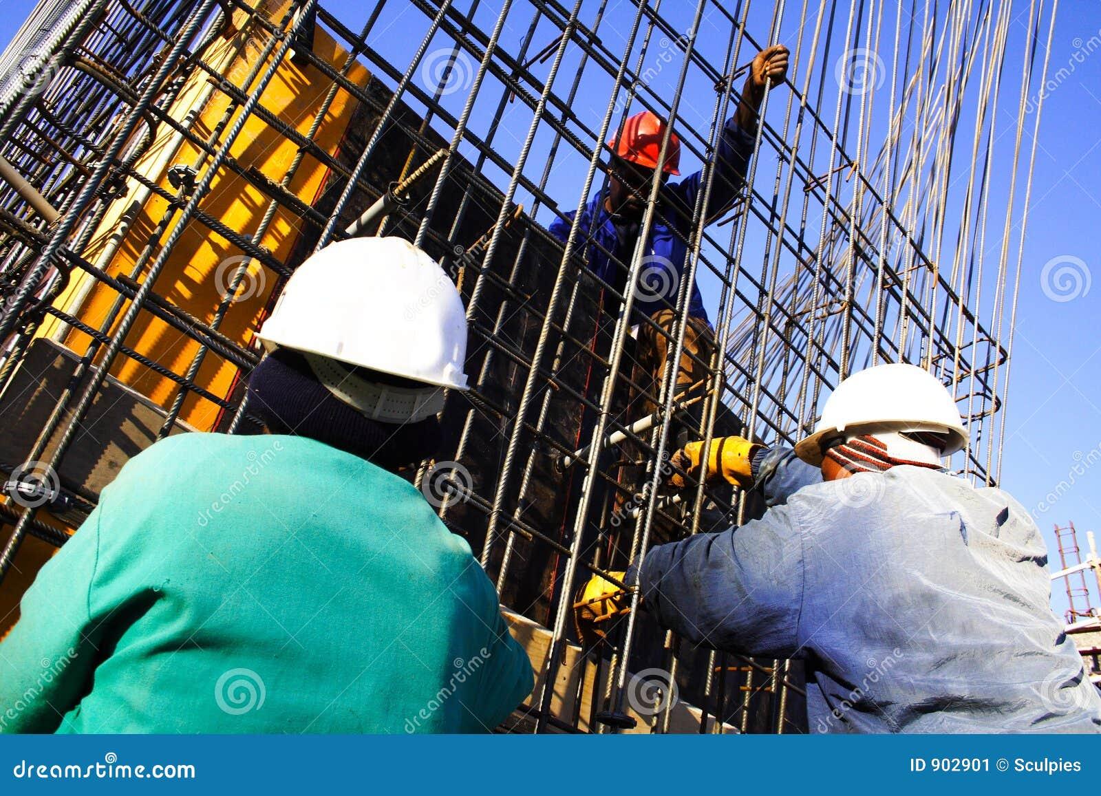 Travailleur de la construction trois