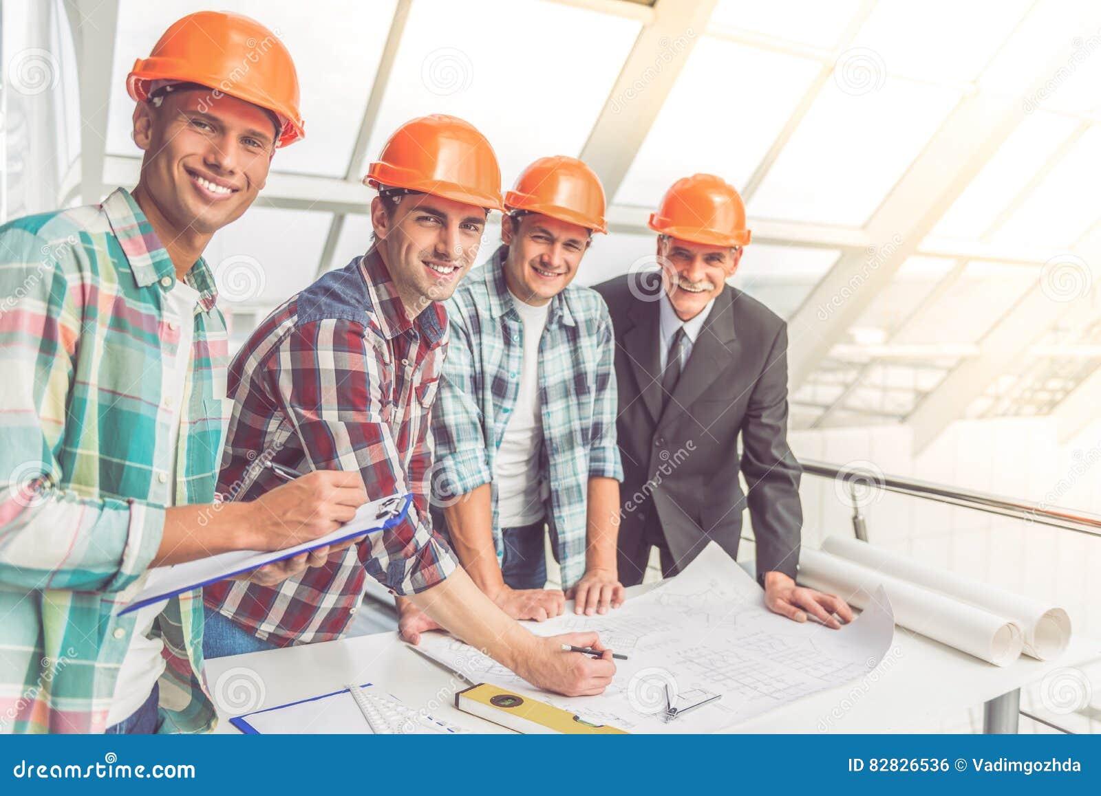 Travailleurs d industrie du bâtiment