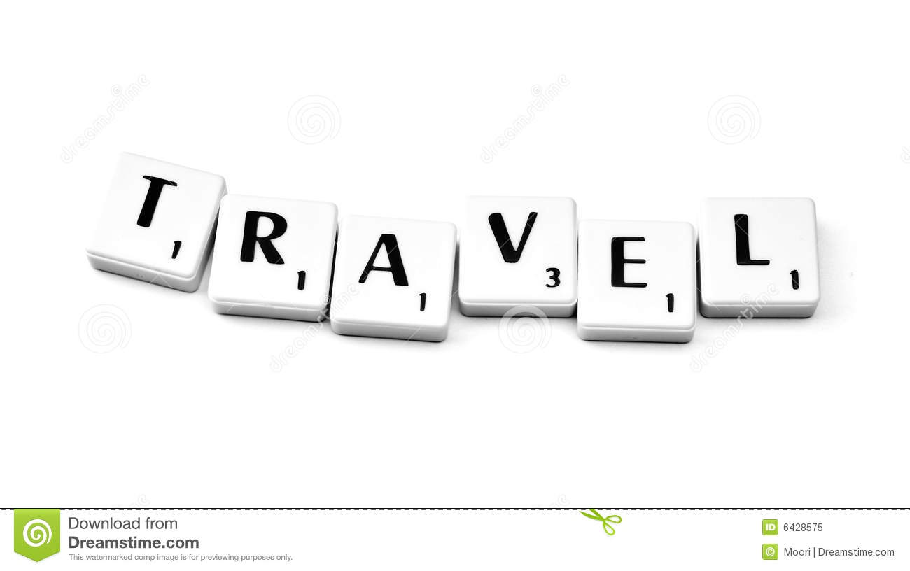 travel stock image image of travel scrabble activity 6428575