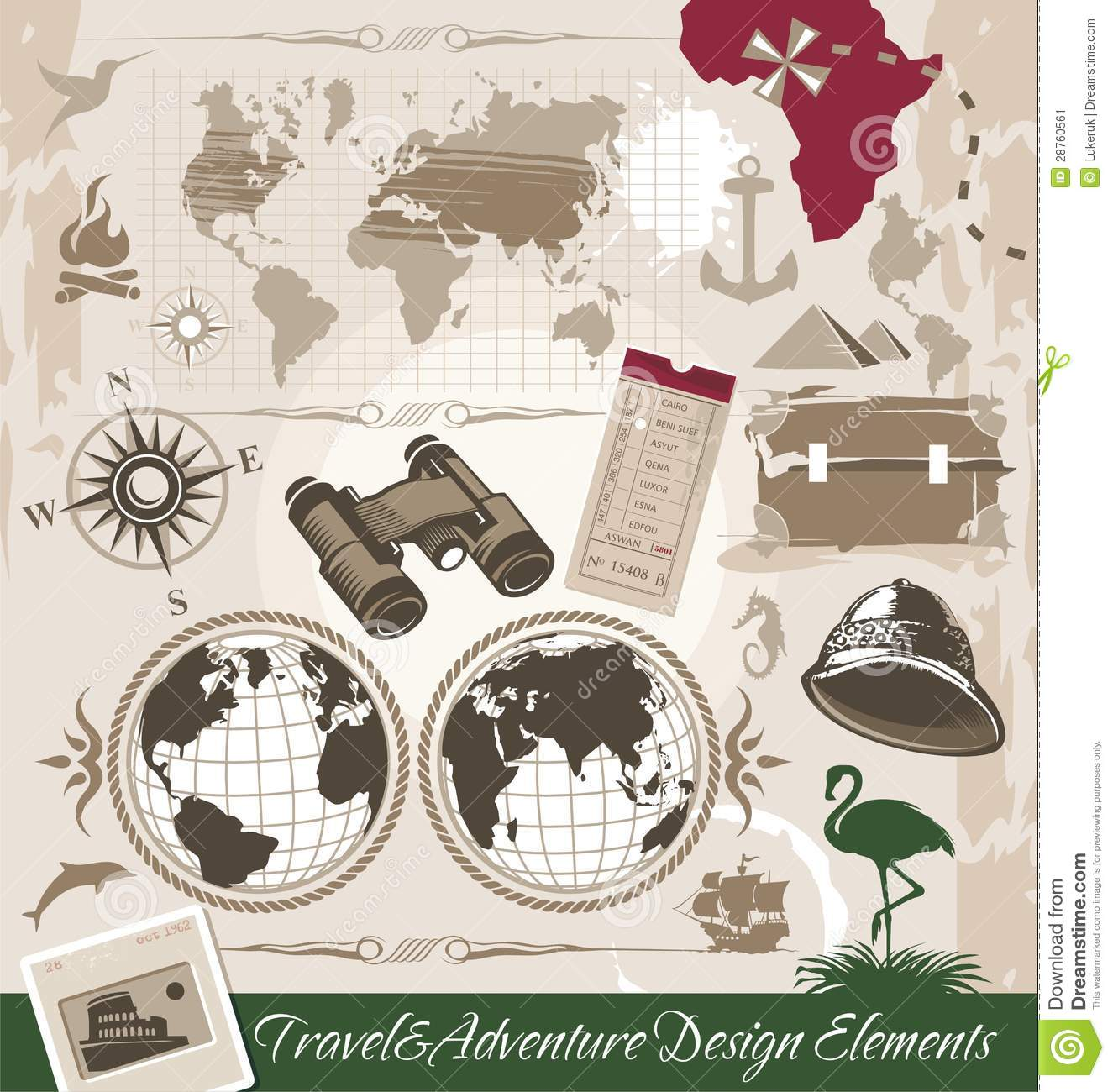 Travel and Adventure Design Elements