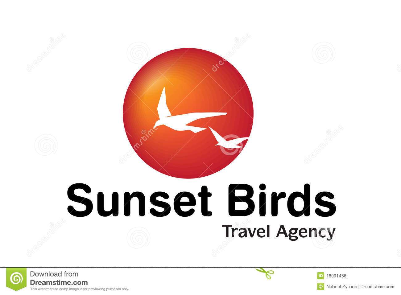 Travel agency logo design stock illustration image of for Design agency