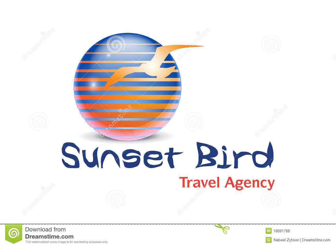 Travel agency logo design royalty free stock image image for Design agency