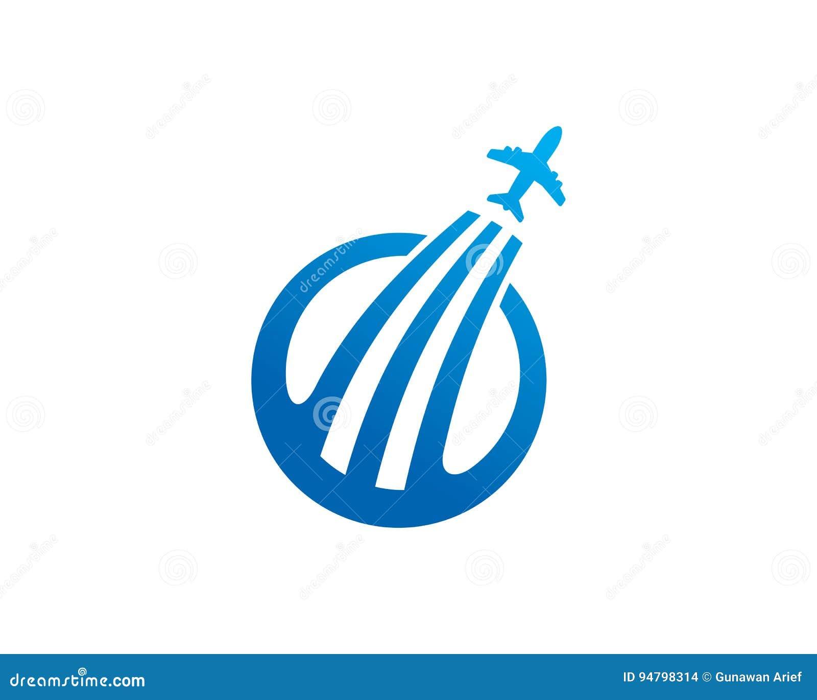 Travel Agent Logo Template Design Vector Emblem Concept Rh Dreamstime Com