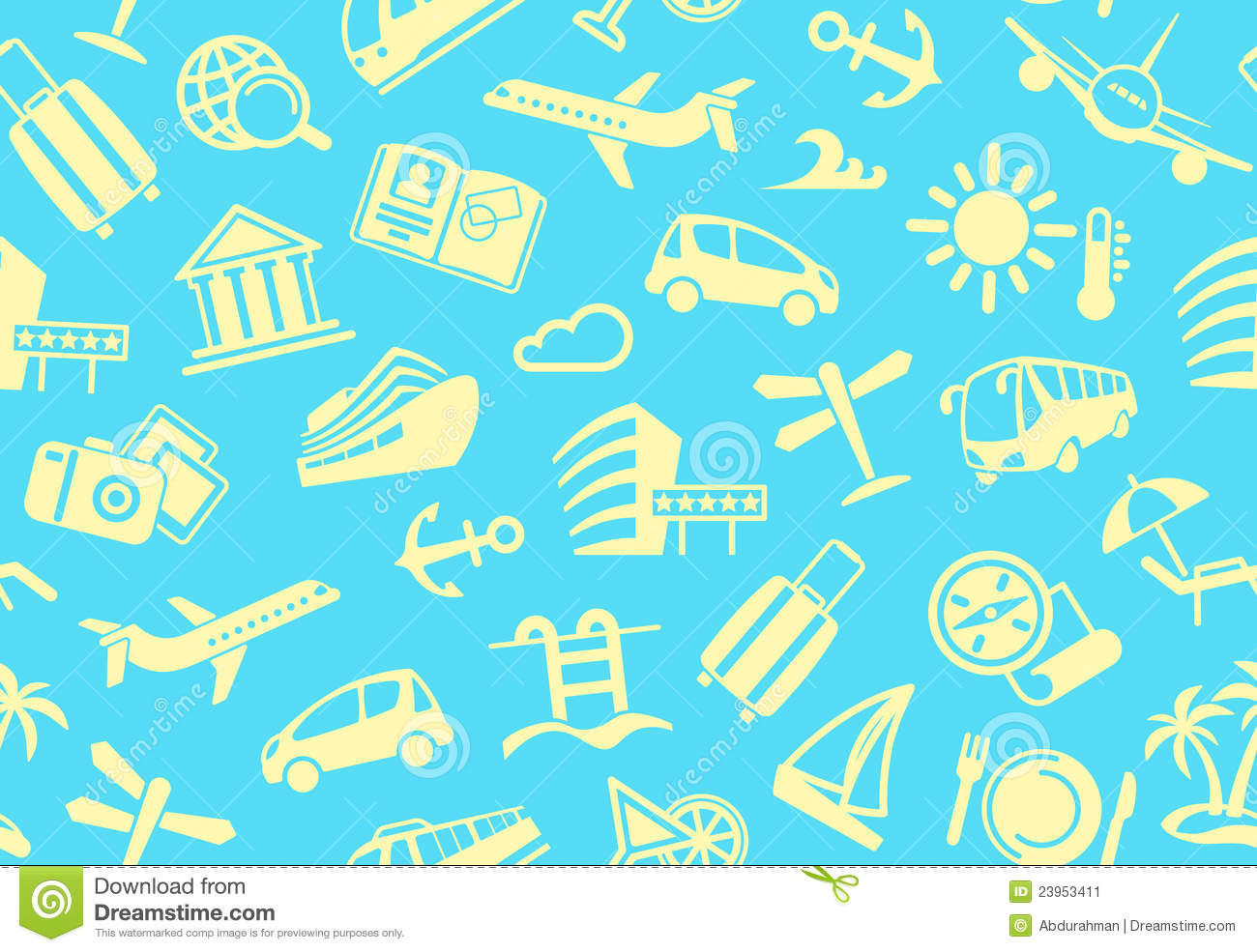 Travel Background Stock Image - Image: 23953411