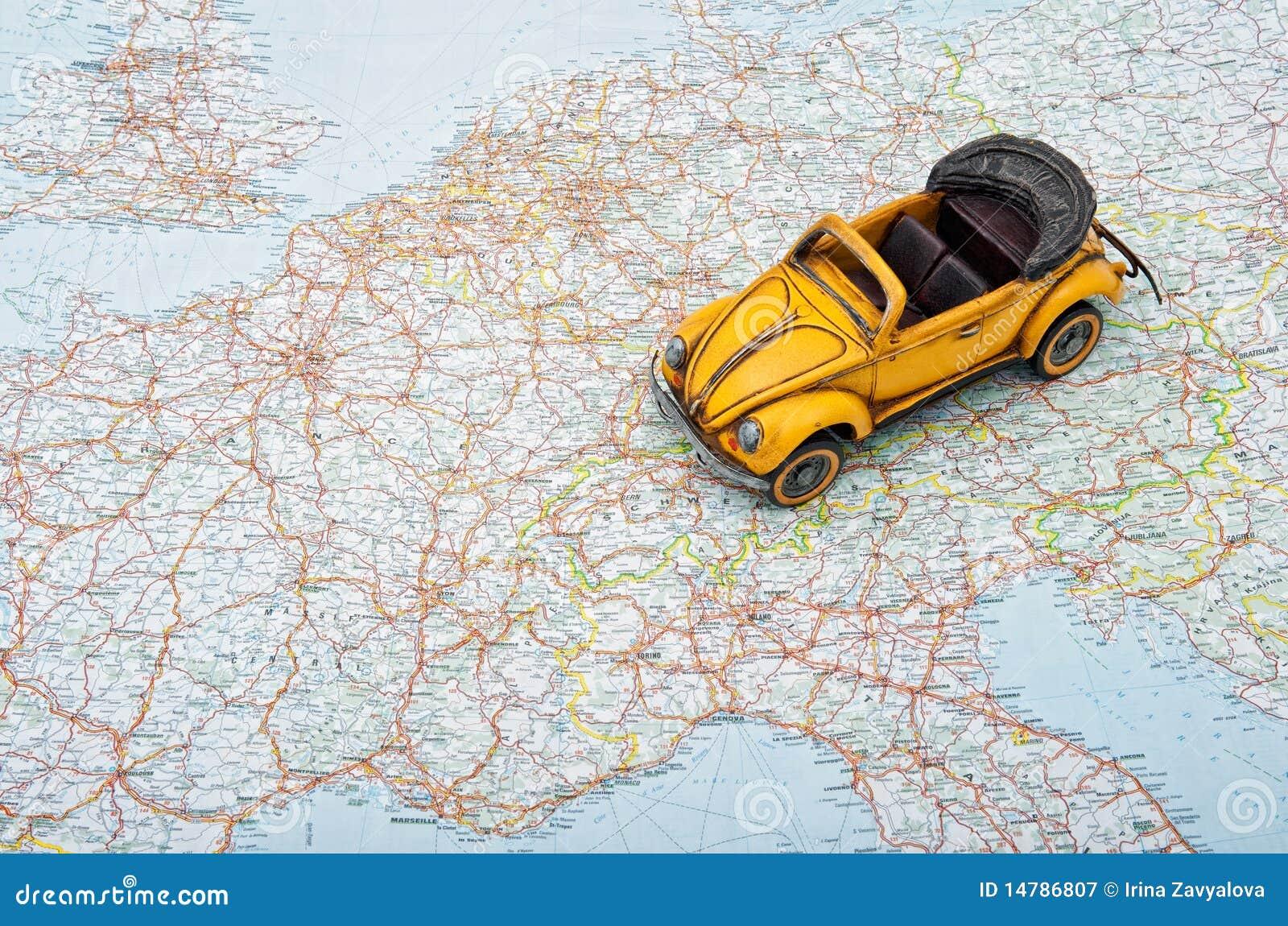 cu masina prin europa
