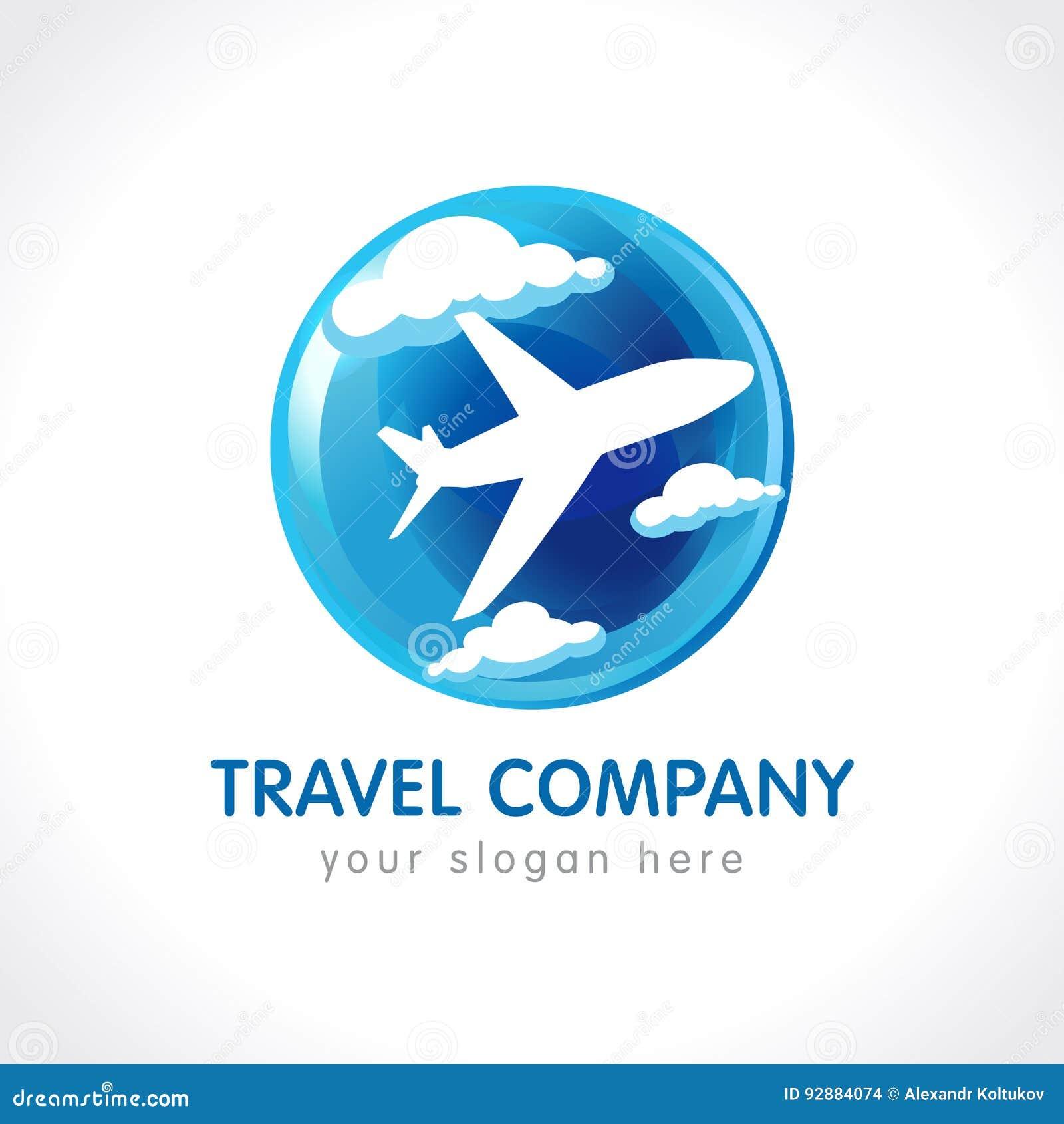 Travel Company Logo . Vector Illustration