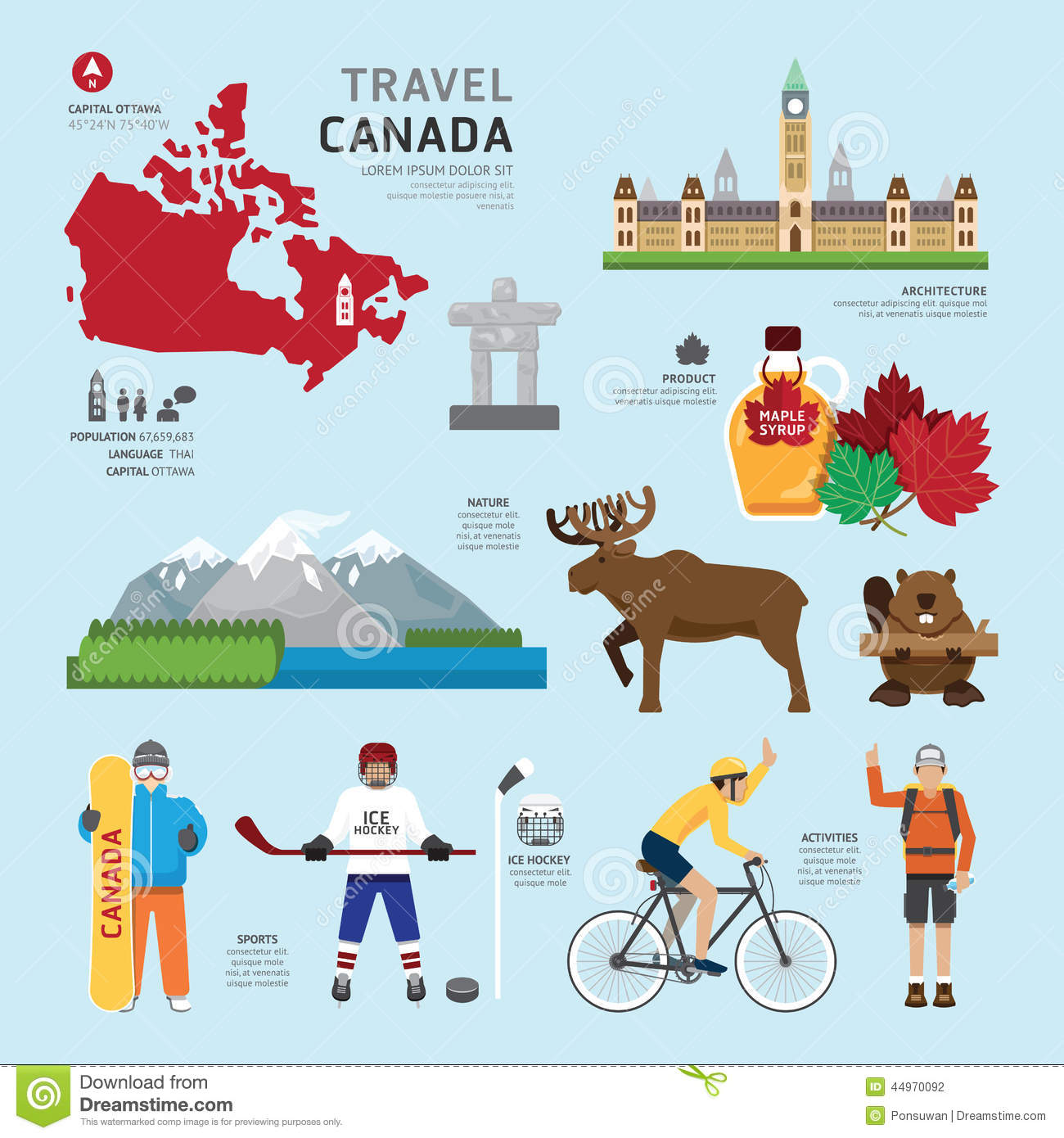 Clipart Map Of Canada