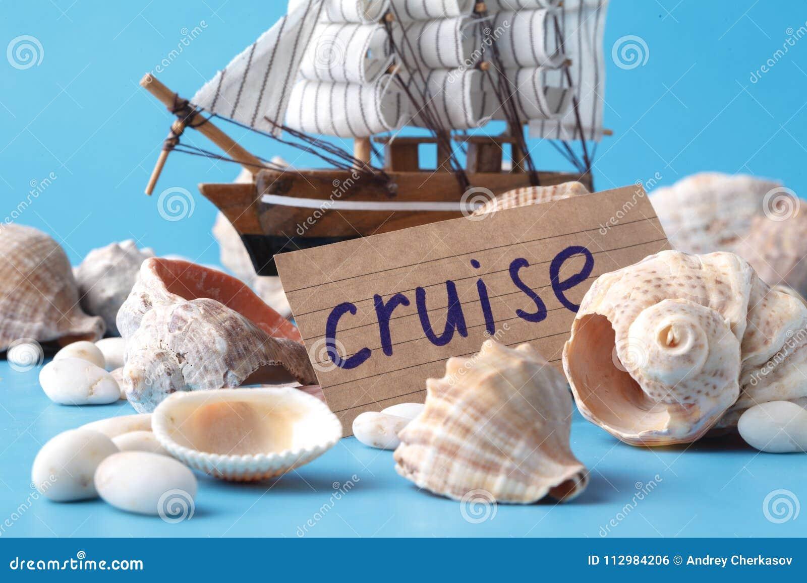 Travel cruise concept, vacation dreams